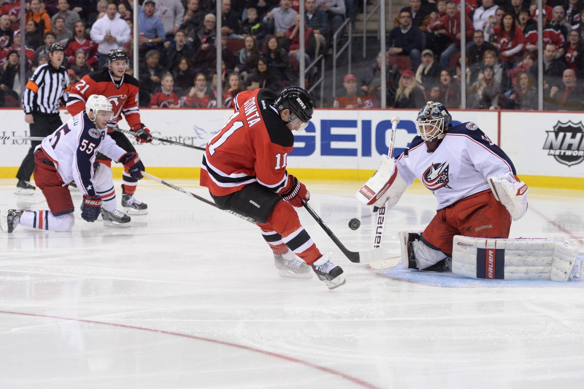 The Devils are going to need a bit more than a free look by Stephen Gionta right in front of the goalie tonight.  Of course, if Gionta scores it, then that'll do fine.