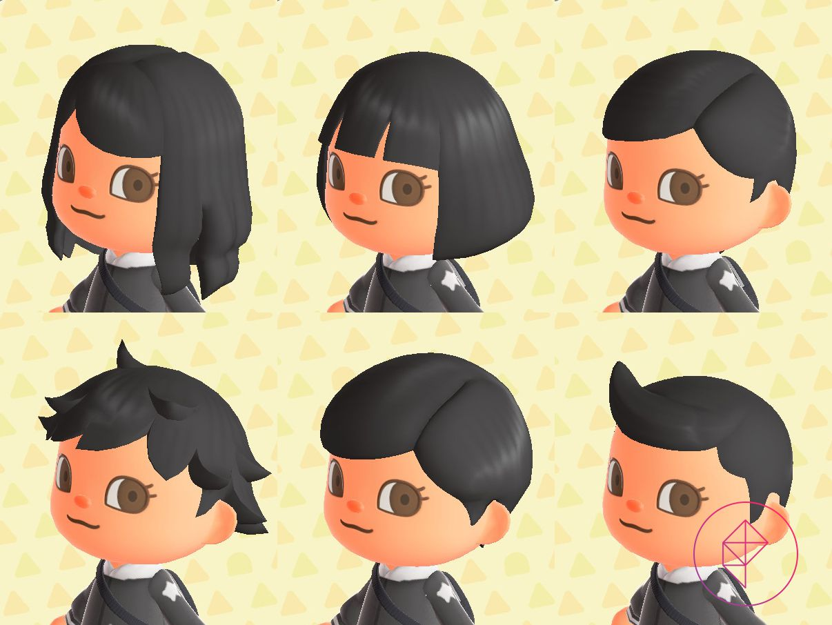 Animal Crossing: New Horizons (Switch) hair guide - Polygon