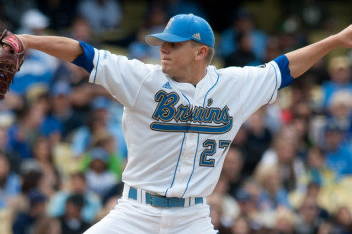 Rob Rasmussen's dominant mound performance helped UCLA tie a school record for regular-season wins (Photo Credit: Official Site)