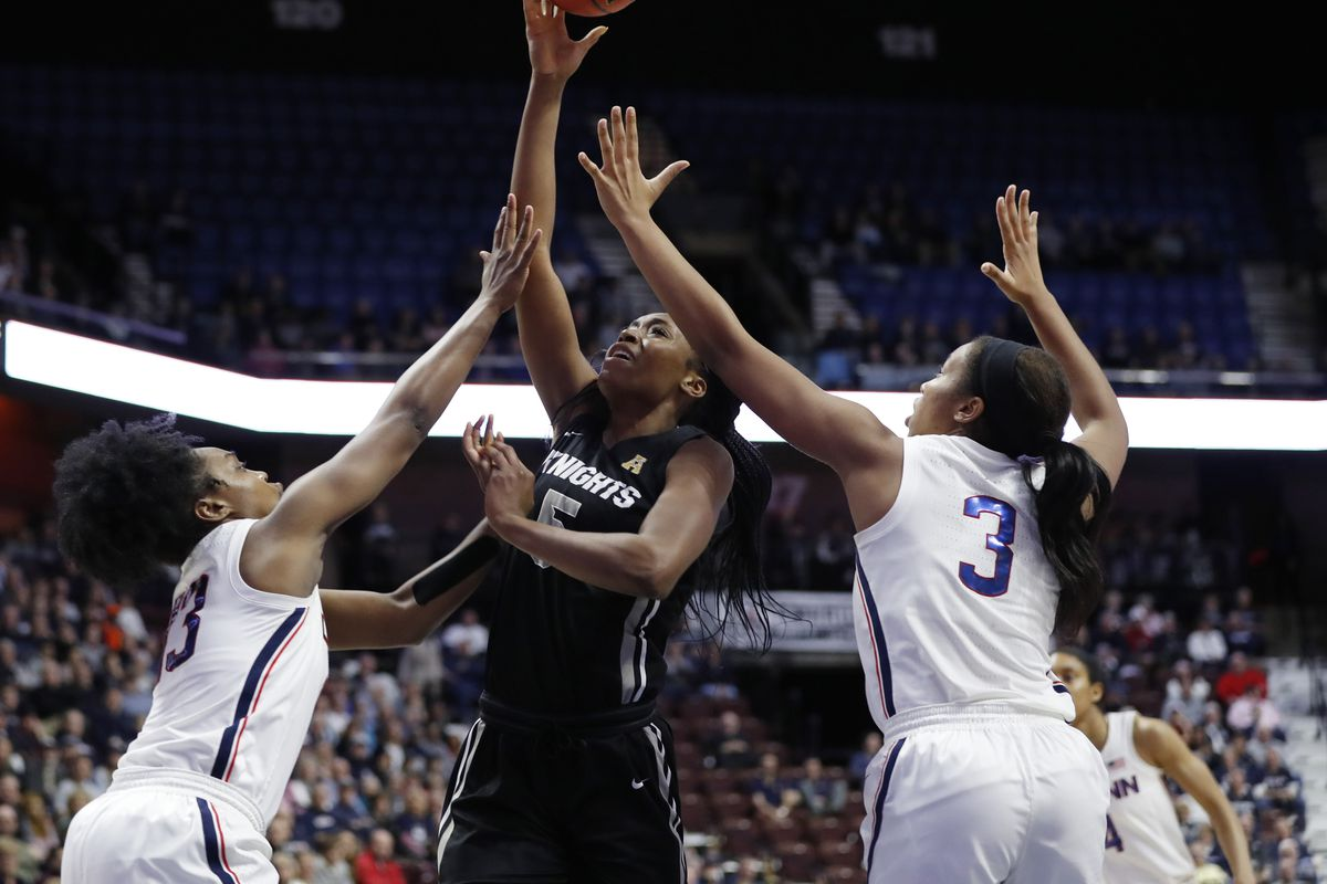 NCAA Womens Basketball: American Conference Tournament-UCF vs Connecticut