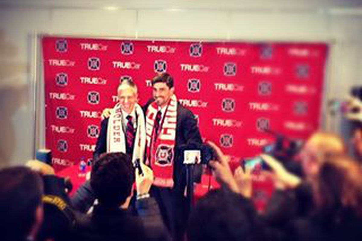Today, for the first time, the Rodriguez/Paunovic front office signed players.