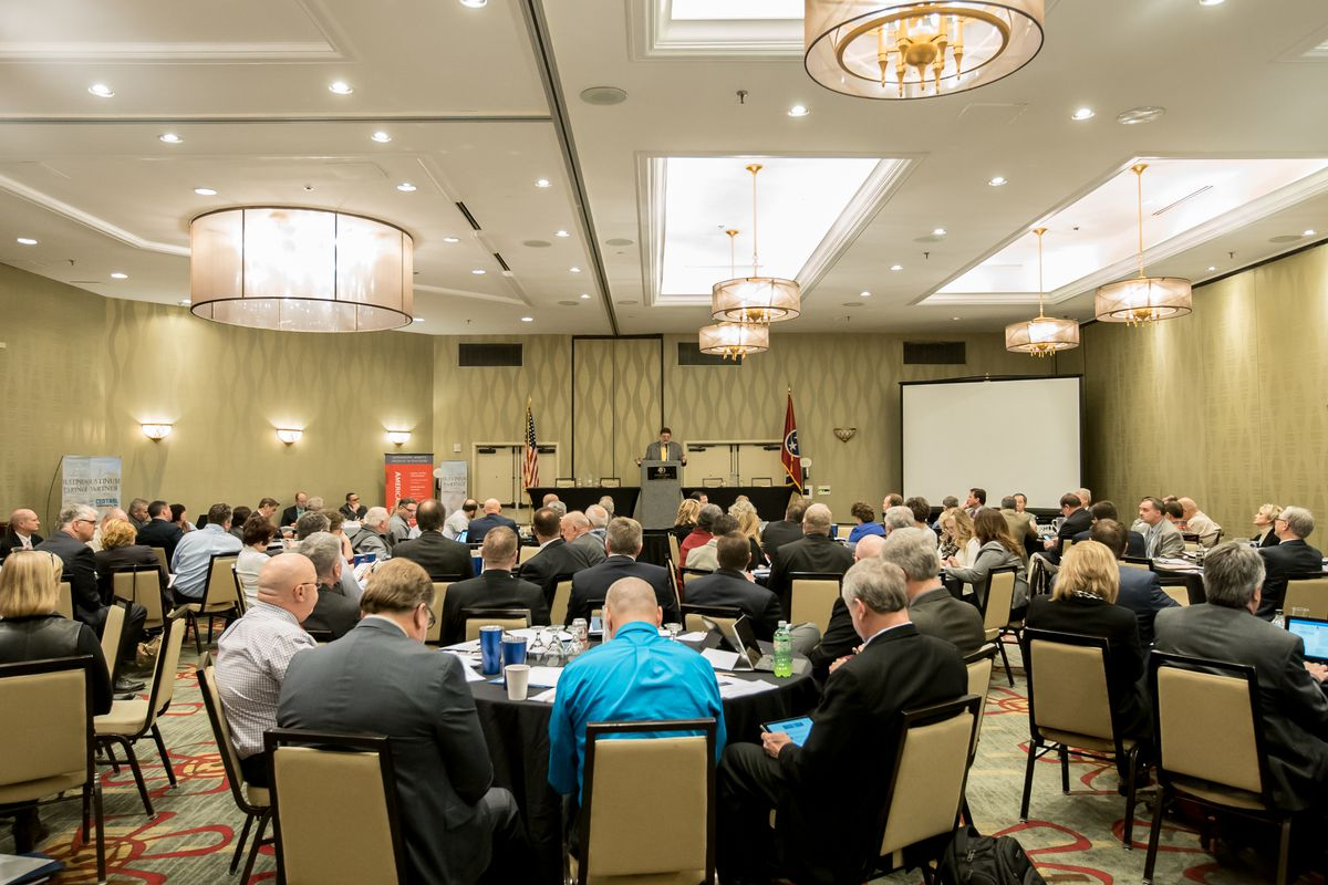 Superintendents from across the state gather for the annual conference of the Tennessee Organization of School Superintendents.