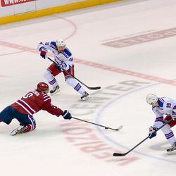 Ovechkin Reaches in Defense