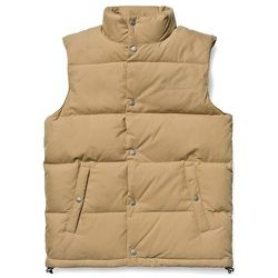 "<strong>Carhartt WIP</strong> Broom Vest in Nomad <a href=""http://shop.carhartt-wip.com/us/men/sale/jackets/I012875/broom-vest"">$164.50</a> (reg. $235)"
