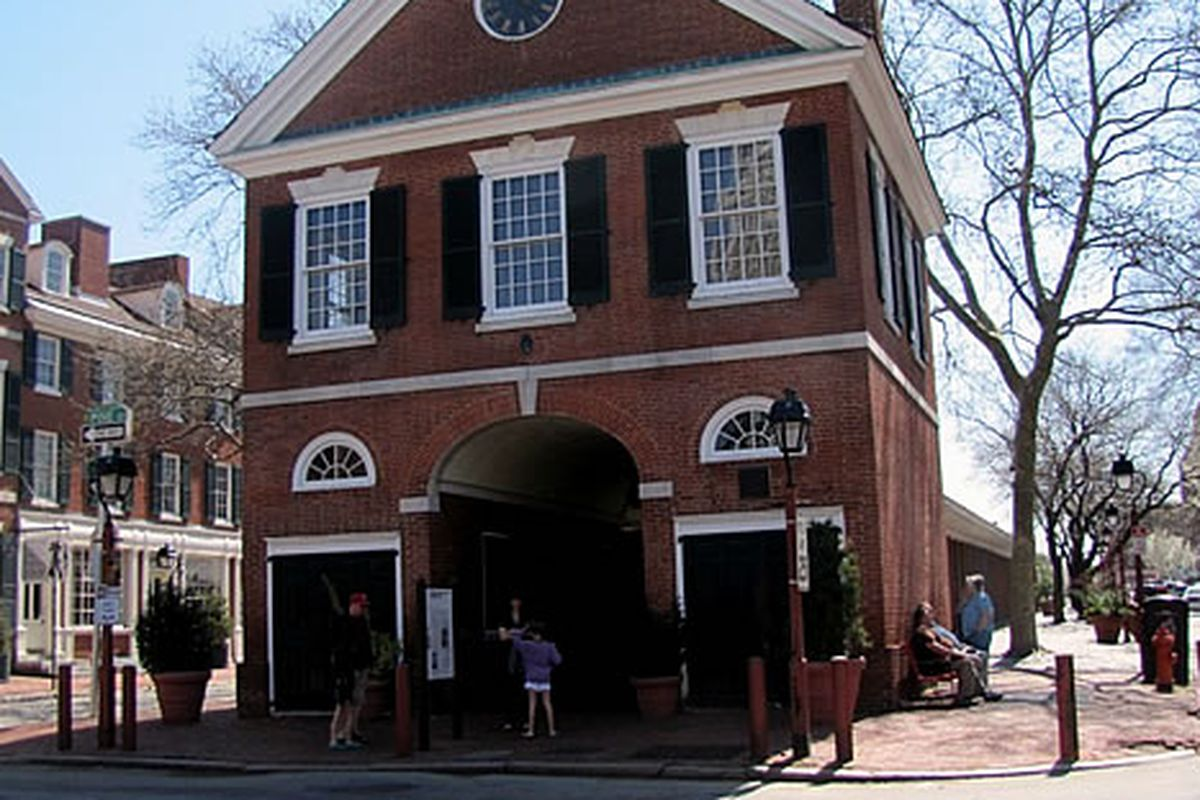 Shambles at Headhouse, home of The New Market