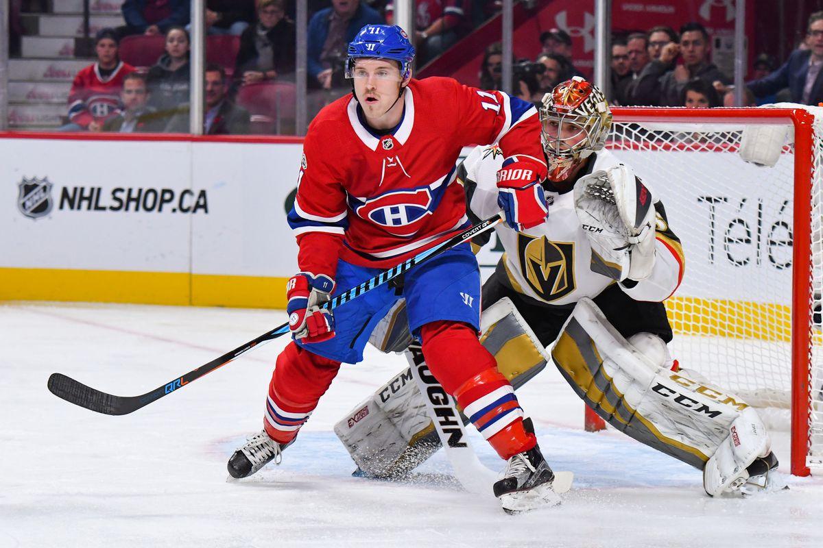 NHL: NOV 07 Golden Knights at Canadiens