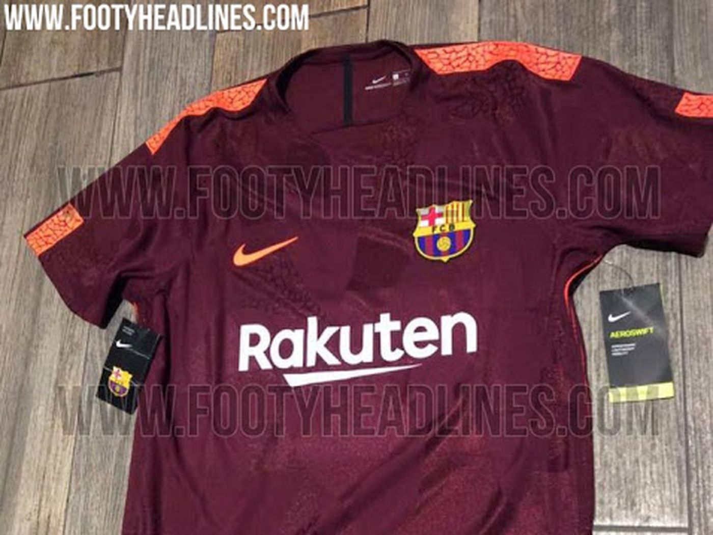 newest 72cf0 644aa New pictures of Barcelona's 2017-18 third kit leaked - Barca ...