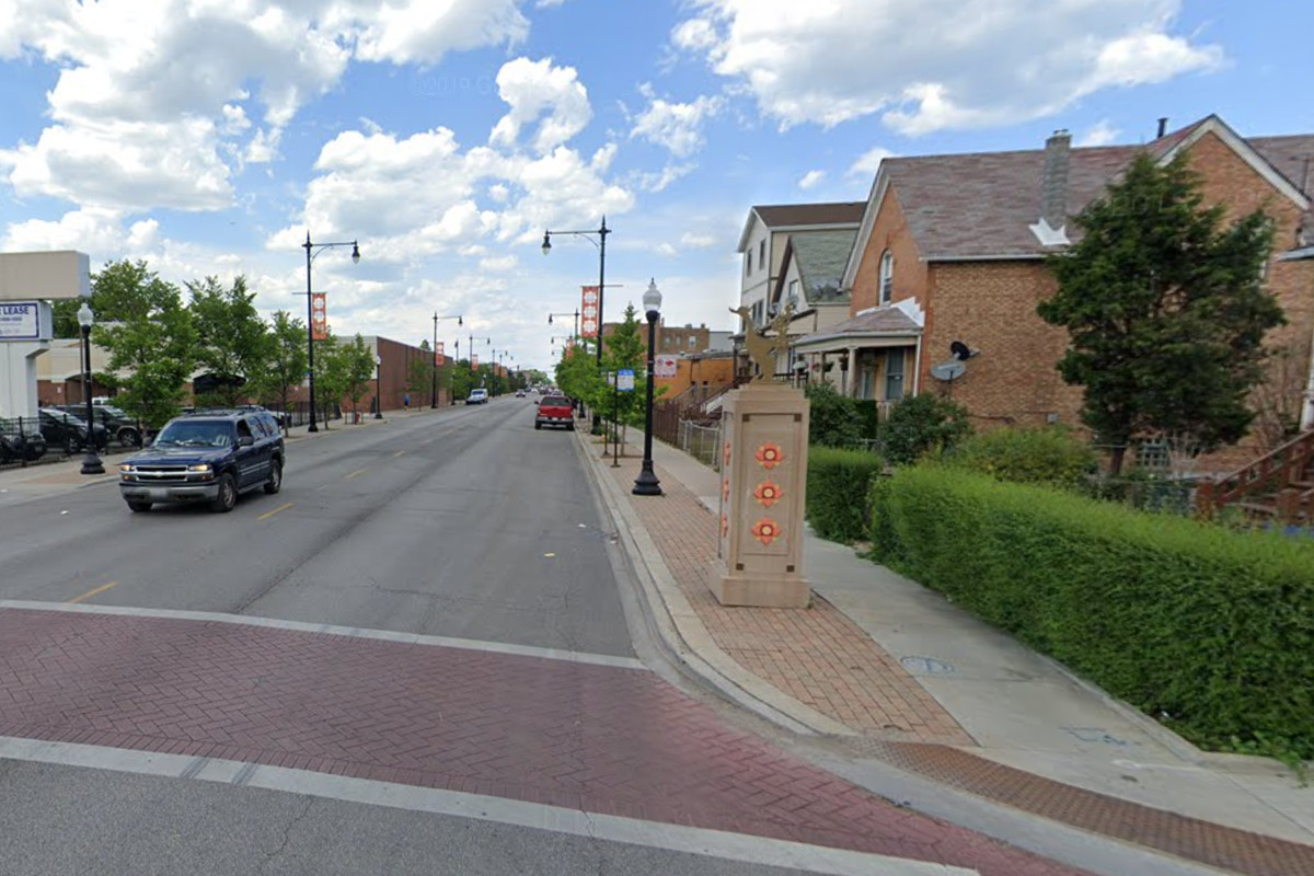 A man died after being hit by a car June 2, 2020, in the 4500 block of North Pulaski Road.
