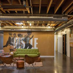 A massive amount of positive vibes fit into the 70,000 square foot HQ.