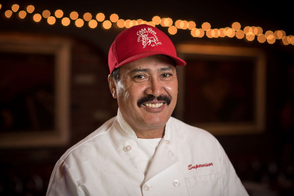 Braulio Arellano, head chef of Casa Vega