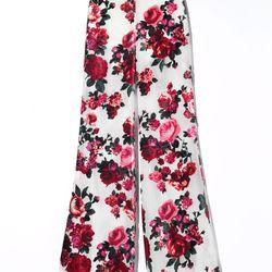 Floral pants, $39.95