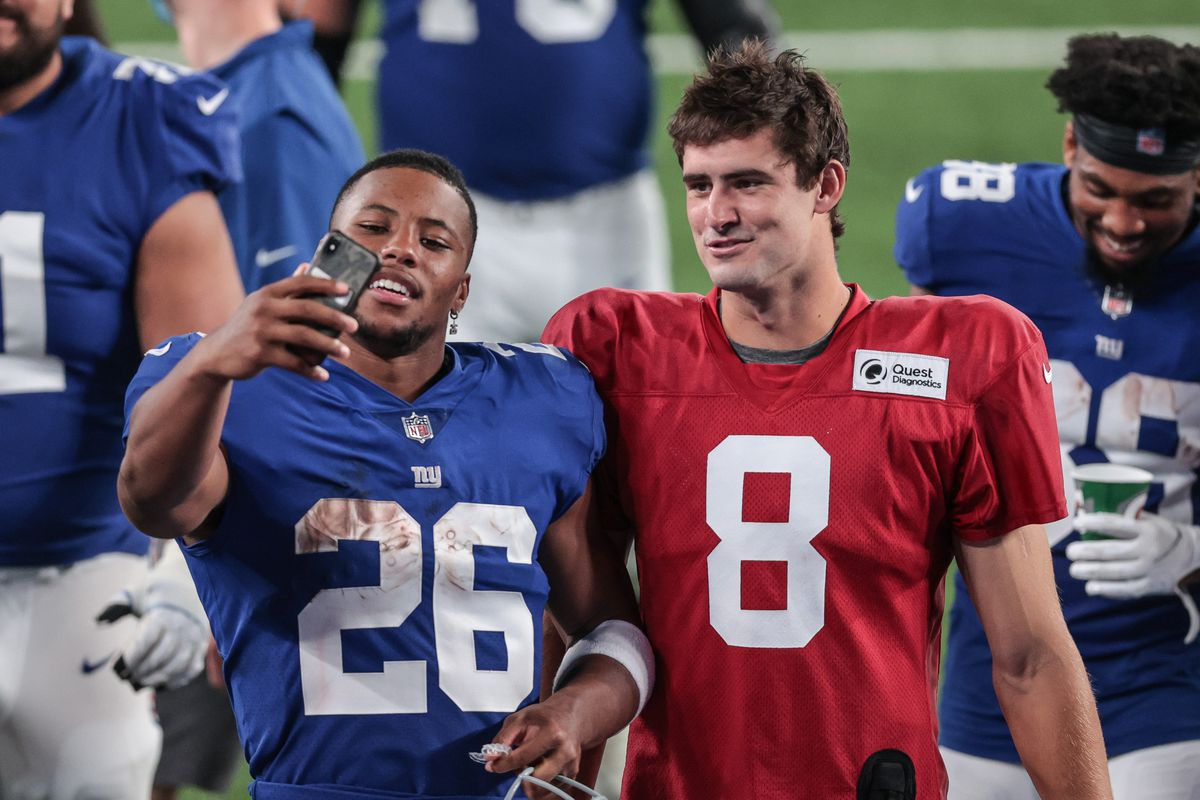 NFL: New York Giants Blue-White Scrimmage