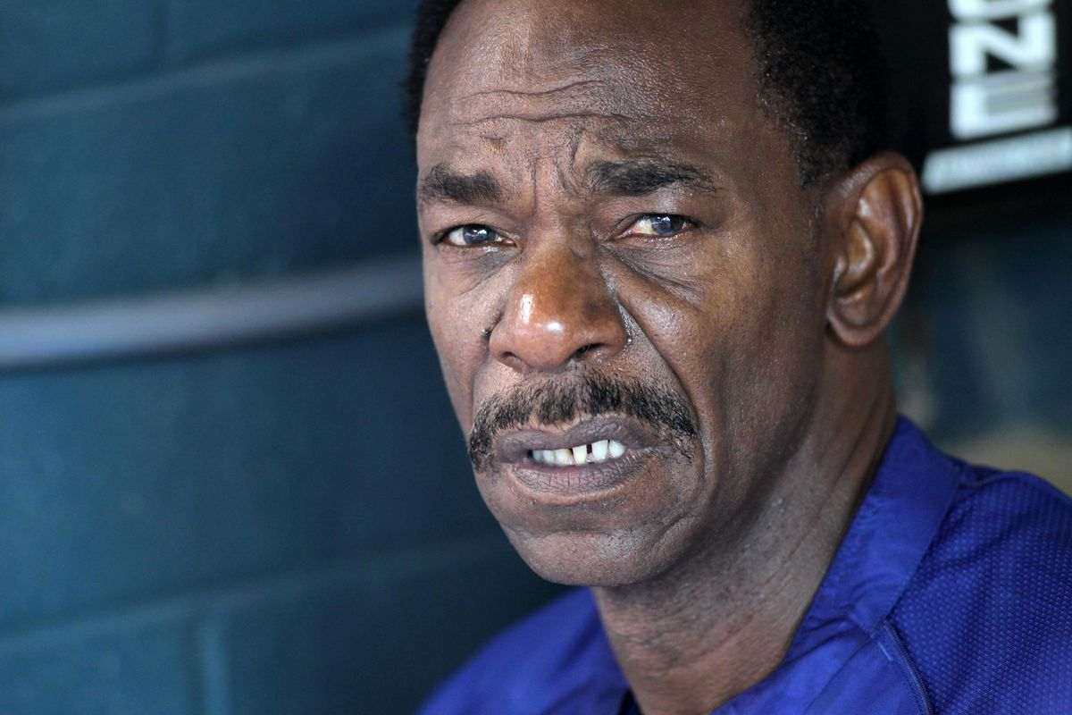 Ron Washington's face when that 9th inning