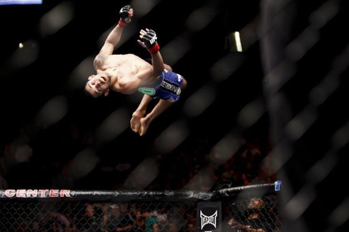Photo of Jose Aldo by Esther Lin for MMA Fighting