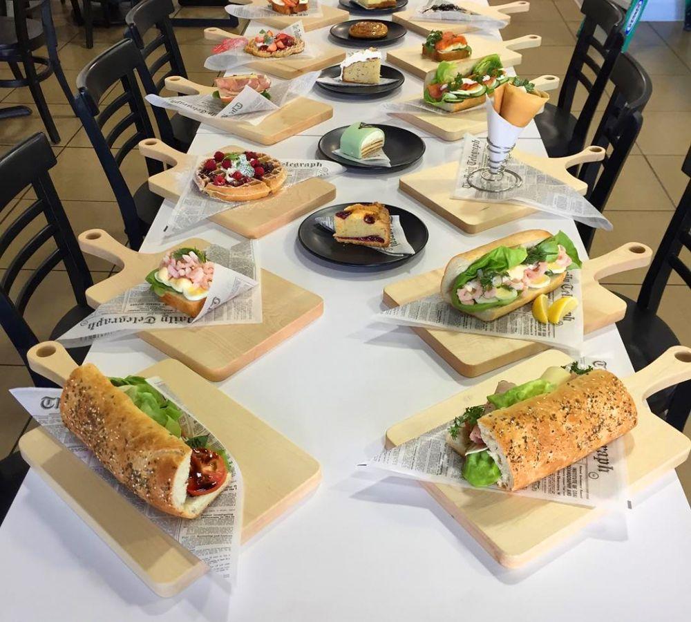 Scandanavian dishes at Saga Pastry + Sandwich