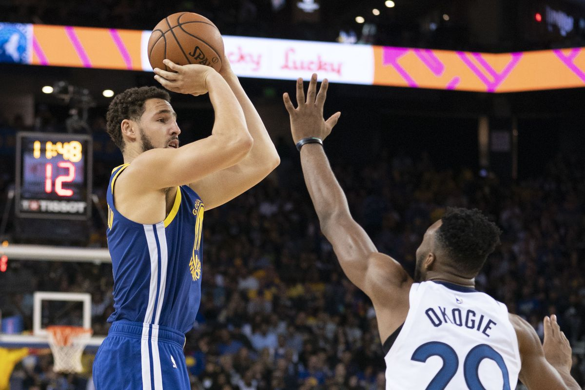 481865fe Warriors social media: Steph Curry comments on Klay Thompson's ...