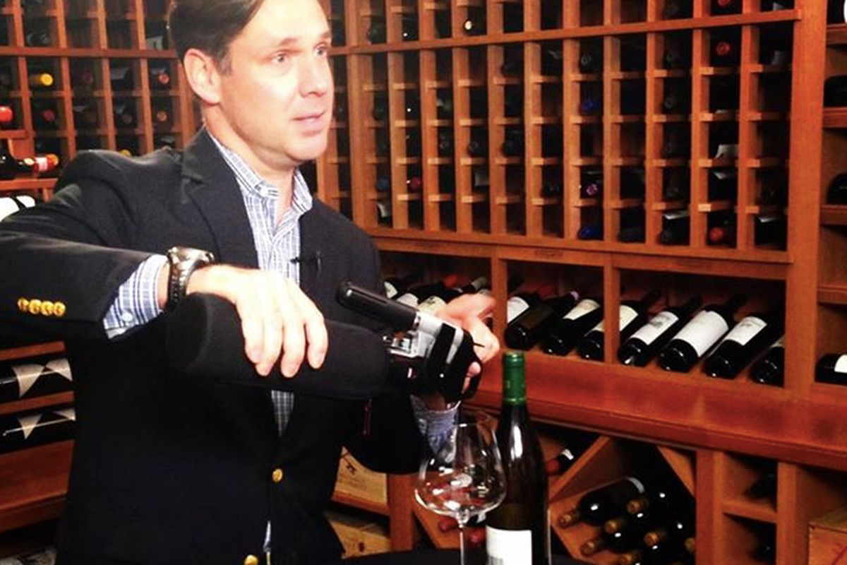 Coravin founder Greg Lambrecht uses a sleeve.