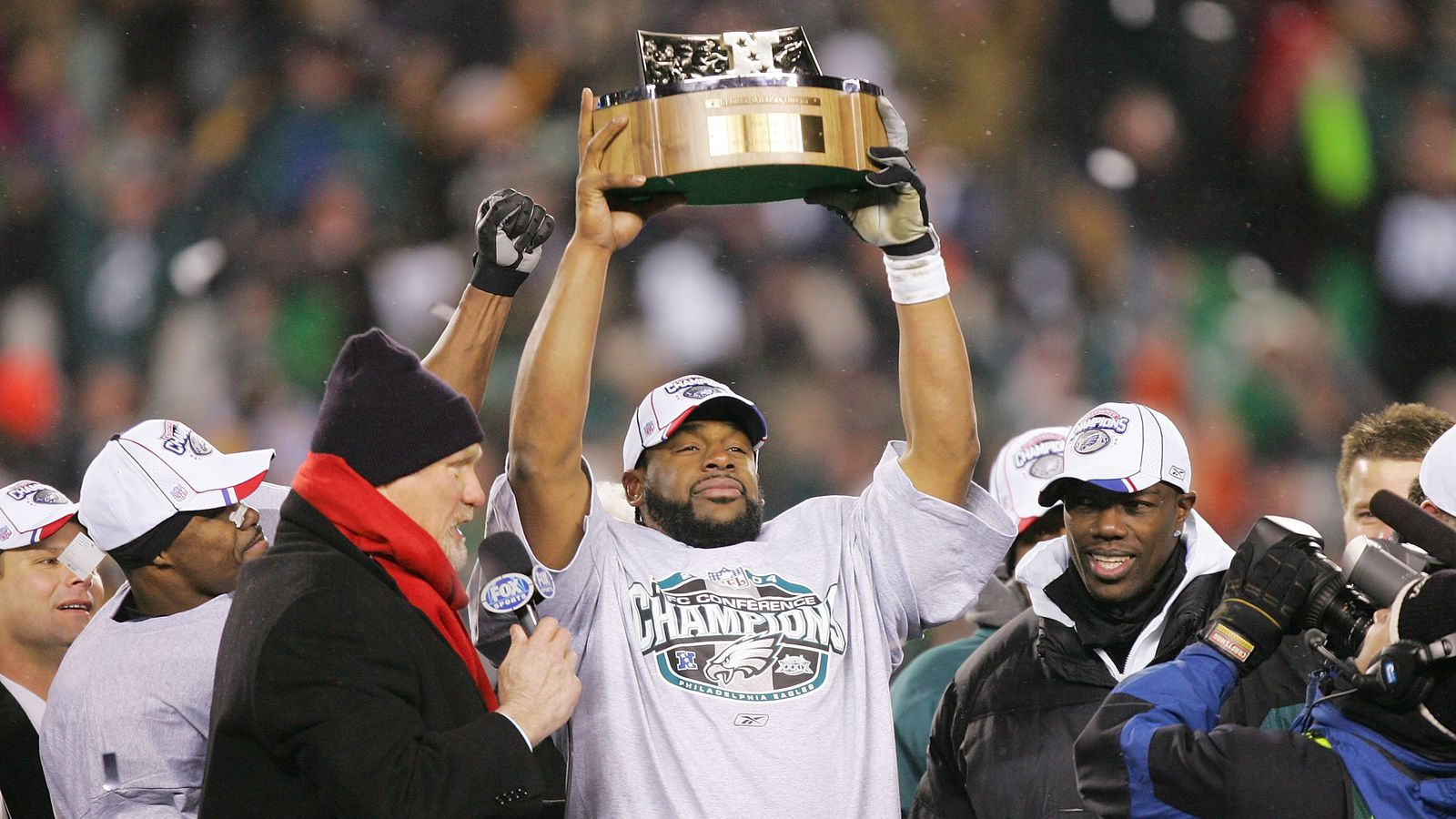 Philadelphia Eagles Were Nfc Champions 10 Years Ago From