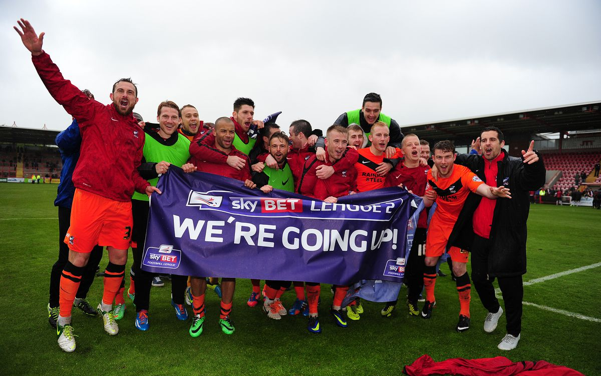 Exeter City v Scunthorpe United - Sky Bet League Two