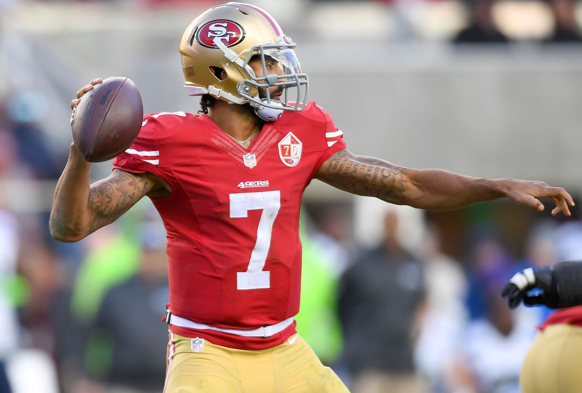 Colin Kaepernick (GettyImages)
