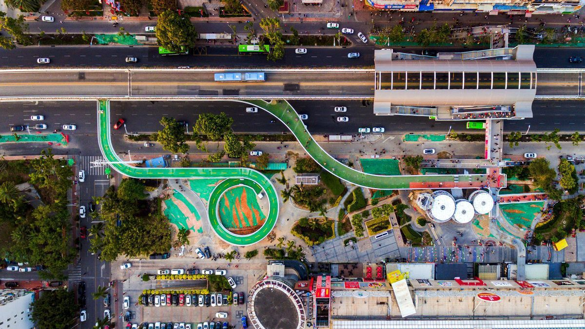 Green bike highway
