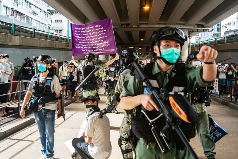 GettyImages_1223720160 China's new national security law is already chilling free speech in Hong Kong
