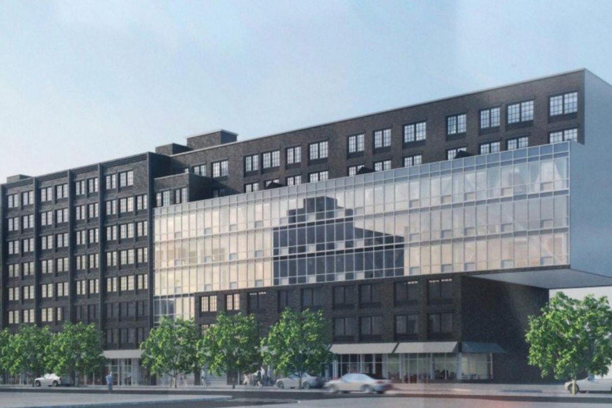 Gigantic clinton hill building launches affordable housing for Affordable building