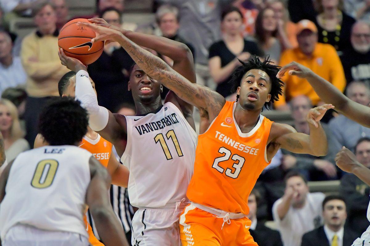 NCAA Basketball: Tennessee at Vanderbilt