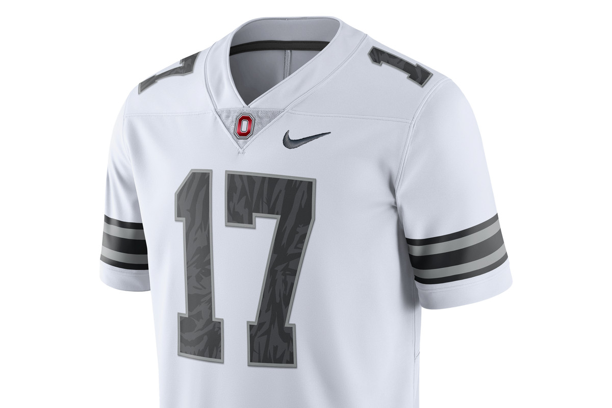 online store d5a8f a046c The jerseys Ohio State will wear against Michigan have been ...