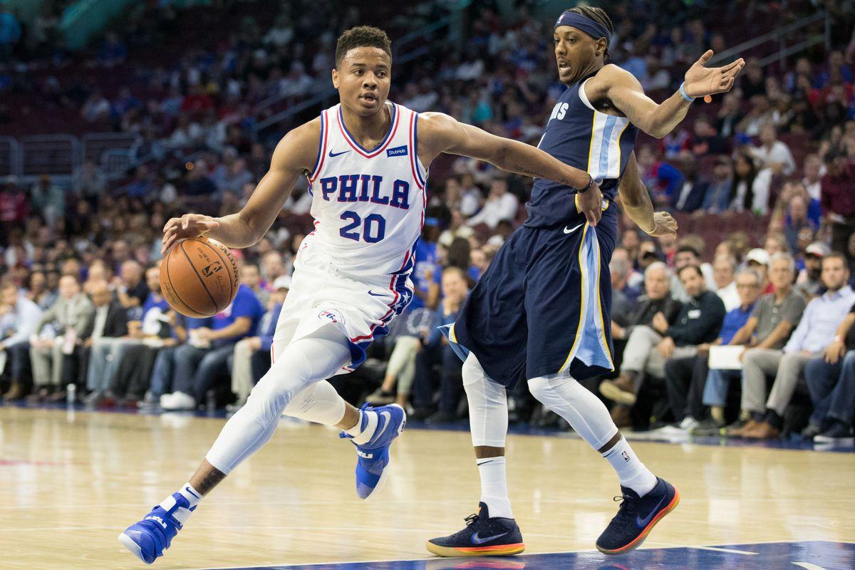 NBA: Preseason-Memphis Grizzlies at Philadelphia 76ers