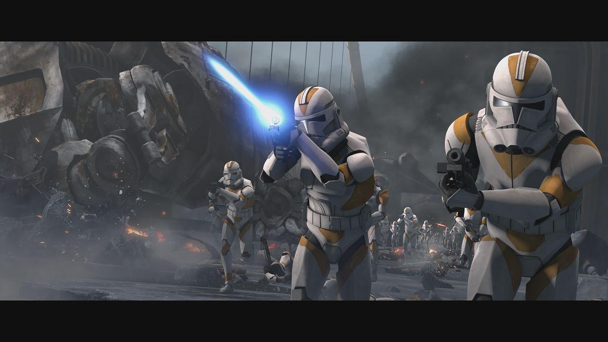 Star Wars The Clone Wars Season 7 Episode 8 Siege Of Mandalore Begins Deseret News