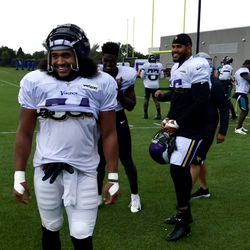 All smiles before the work begins