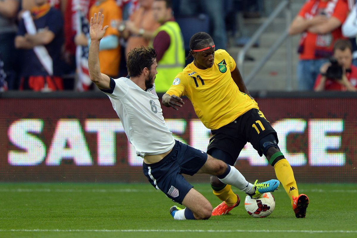 Brad Evans has one international goal. The game winner in a World Cup qualifier in Jamaica.