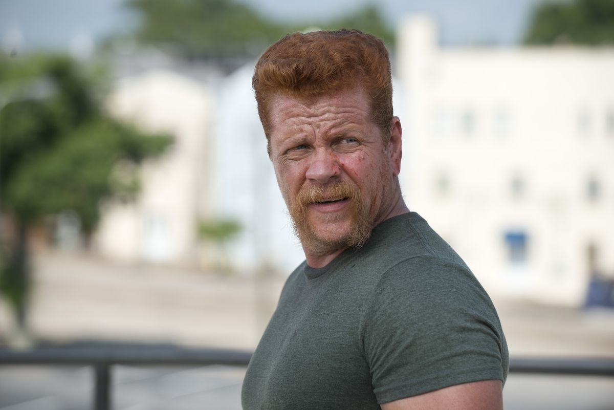 Abraham on The Walking Dead.