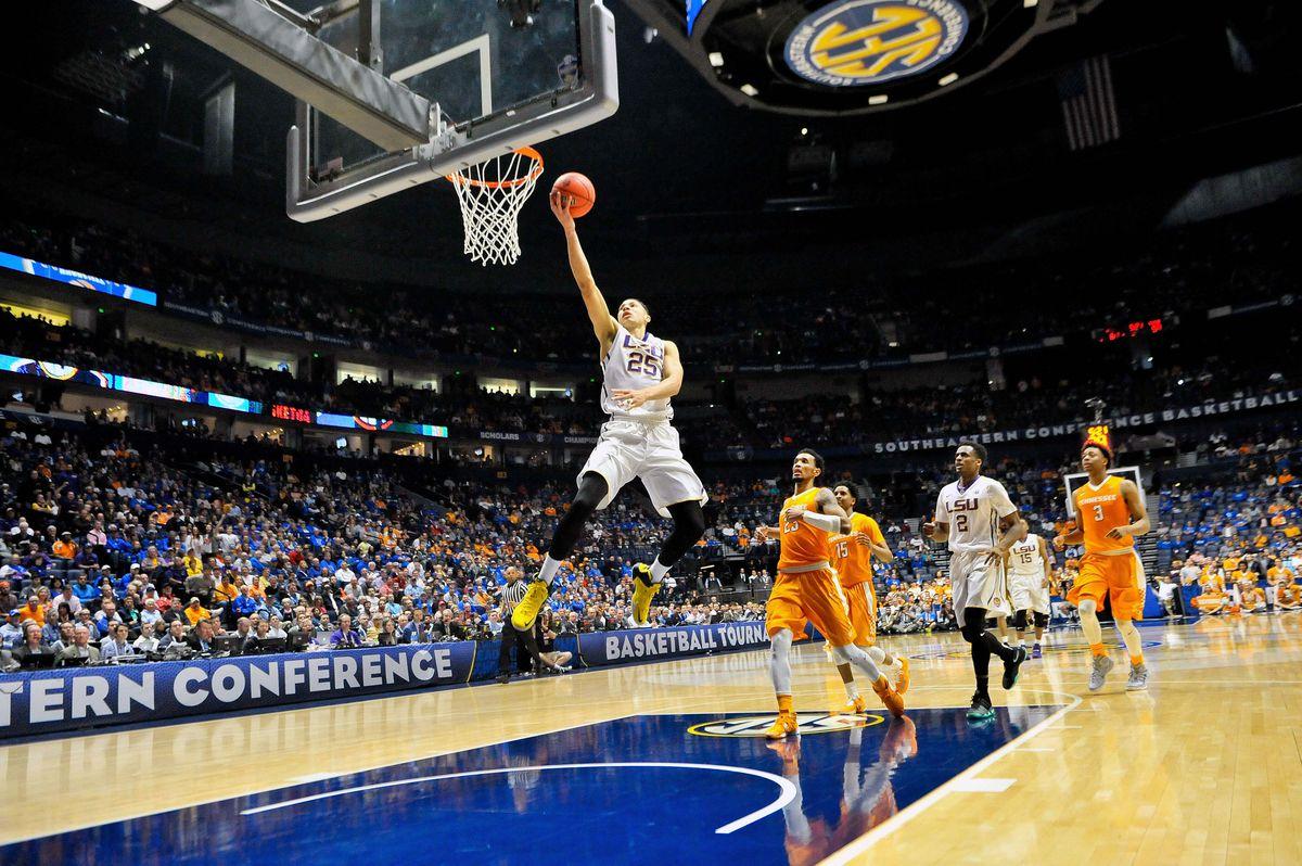 NCAA Basketball: SEC Tournament-Louisiana State vs Tennessee