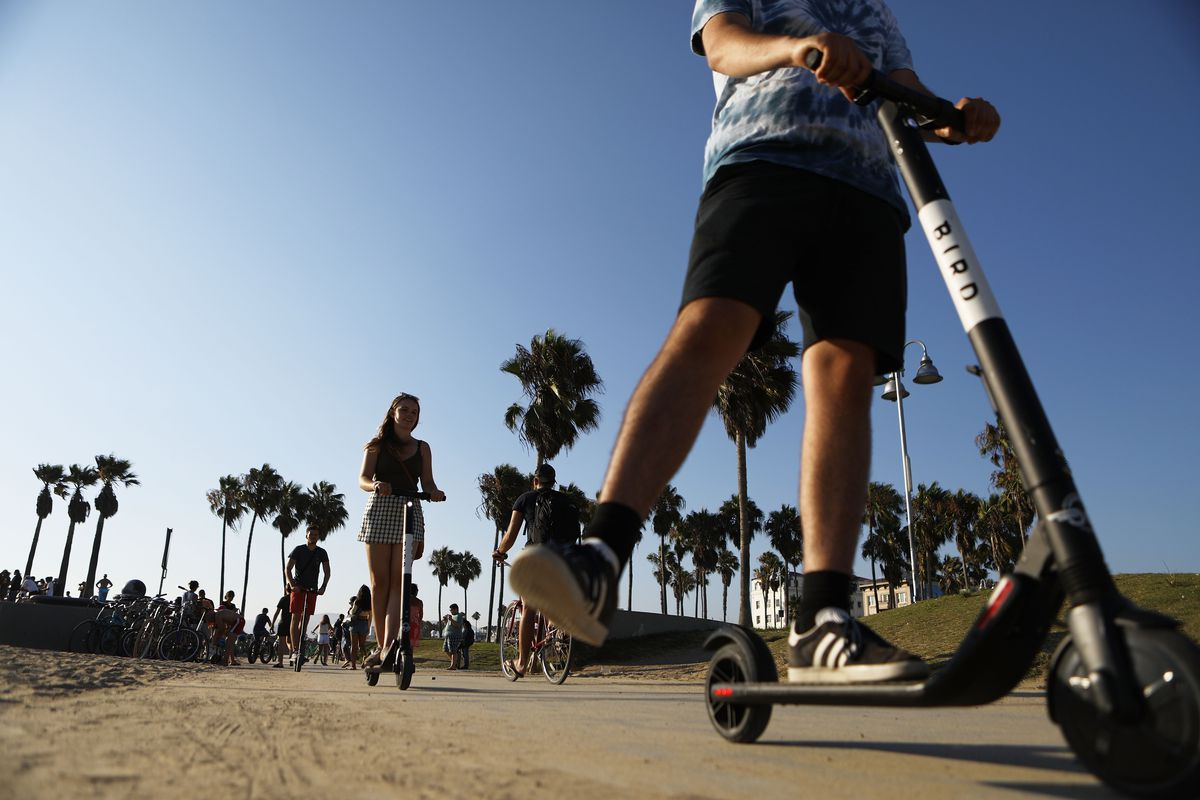 Will La S Electric Scooters Disappear Curbed La
