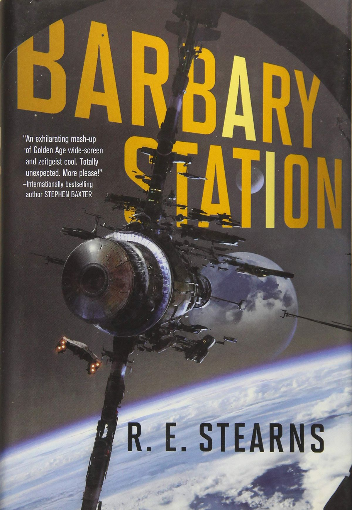 Barbary Station by R.E. Stearns book cover