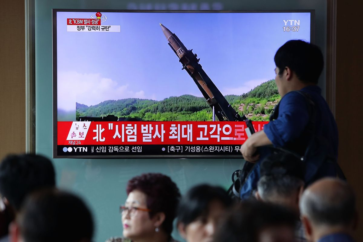 North Korea Launches Ballistic Missile Into Japanese Waters