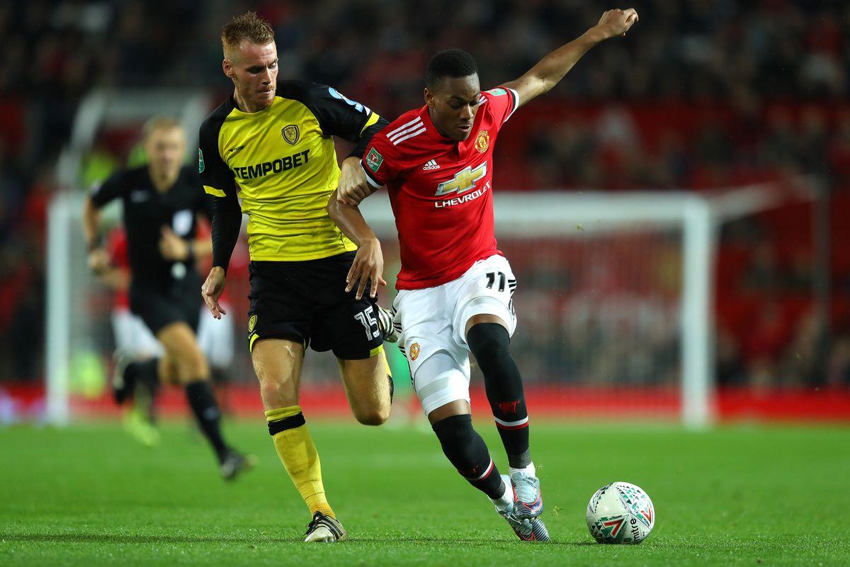 Manchester United v Burton Albion - Carabao Cup Third Round