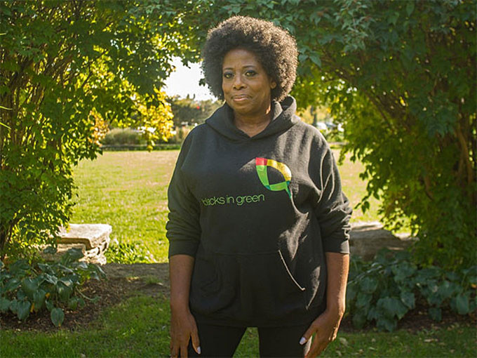 """Naomi Davis, founder and CEO of Blacks in Green, purchased the dilapidated childhood home of Emmett Till from a real estate developer on Oct. 6. The nonprofit has launched an $11 million fundraising campaign to convert the brick two-flat at 6427 S. St. Lawrence Ave. in West Woodlawn into an international heritage pilgrimage shrine to be called """"The Till-Mobley Great Migration Museum, Garden and Theater."""""""