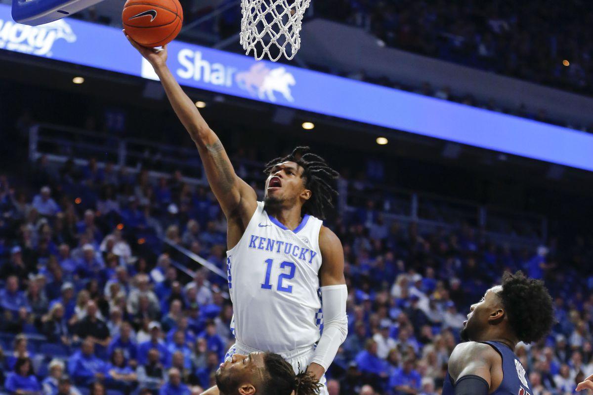 NCAA Basketball: Fairleigh Dickinson at Kentucky