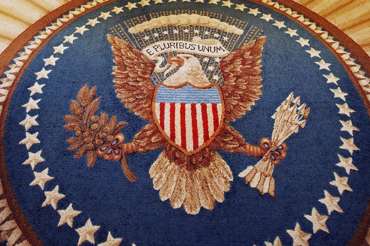 The Great Seal in the Oval Office