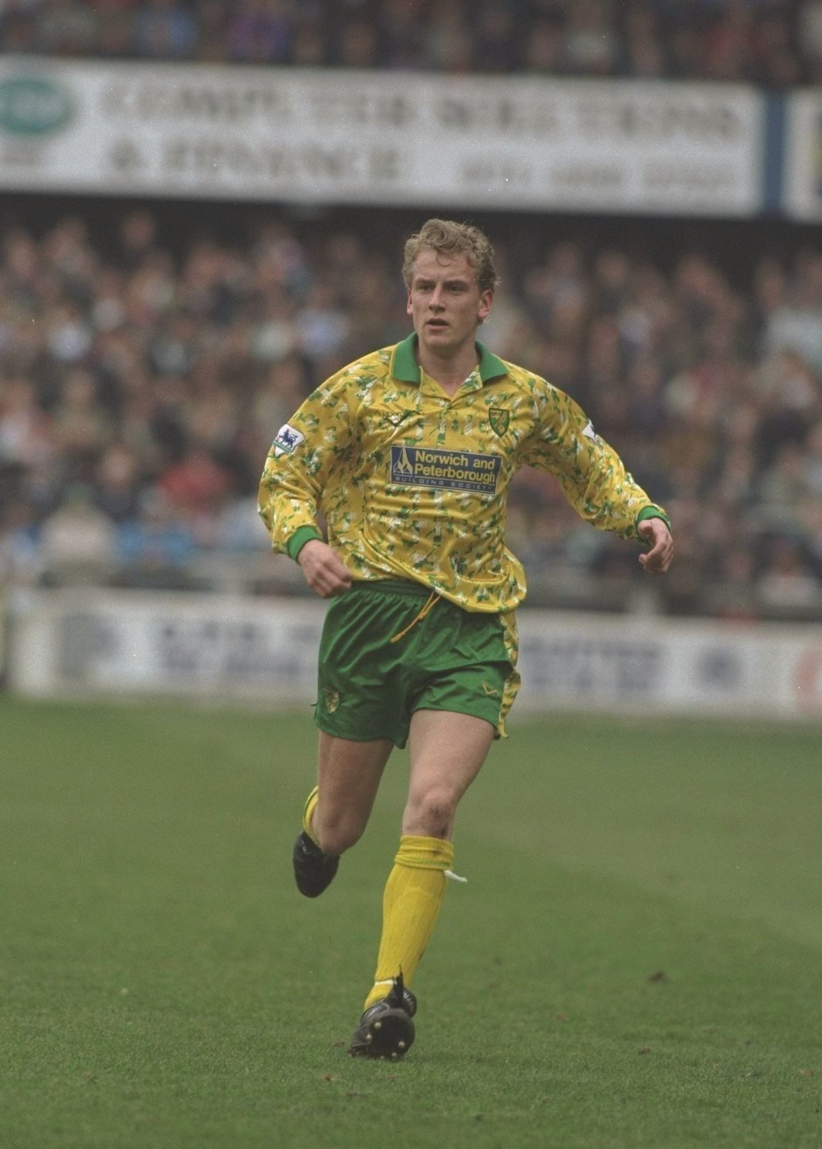 Lee Power of Norwich City in action