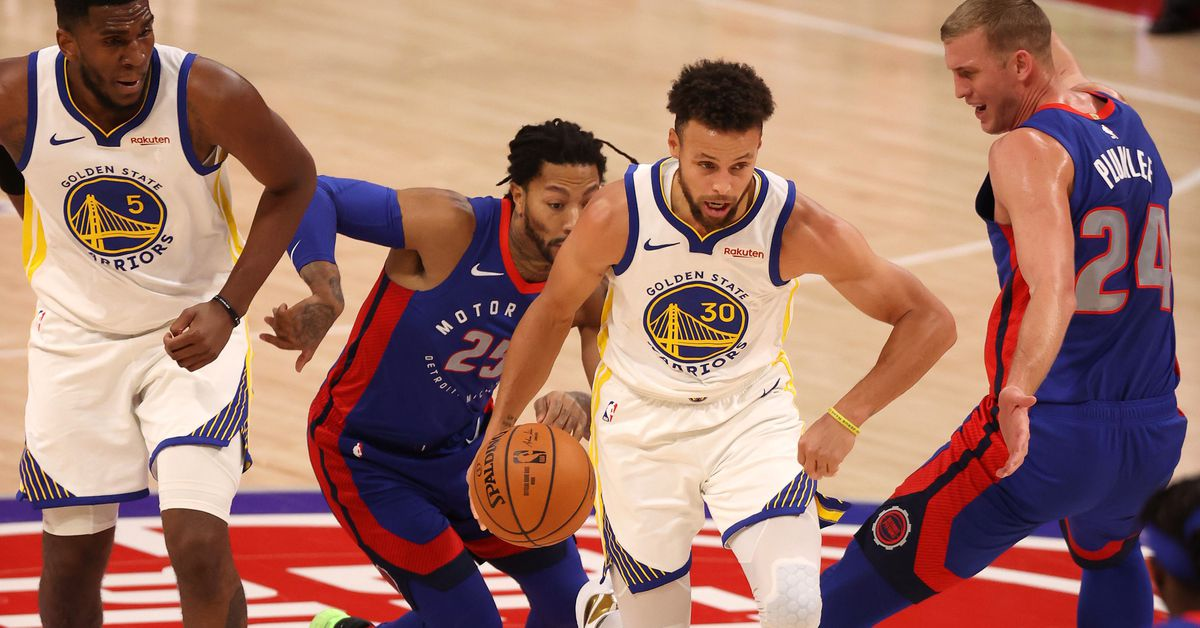 Warriors vs. Pistons keys revisited: Steph Curry and Andrew Wiggins - Golden State of Mind