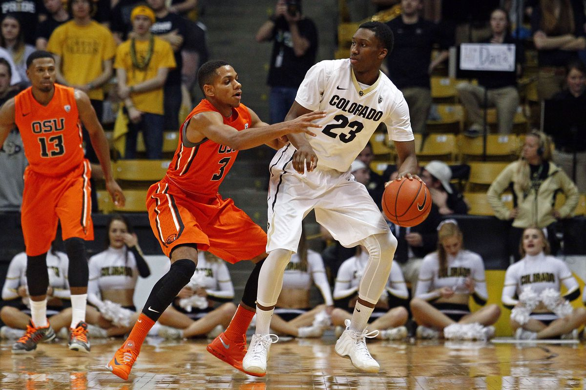 Jaron Hopkins had a career-high 13 points of off the bench for Colorado tonight.