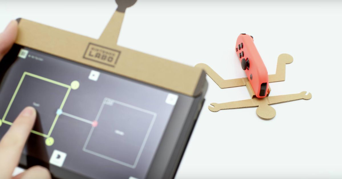 Nintendo Labo's price and launch date are very nice