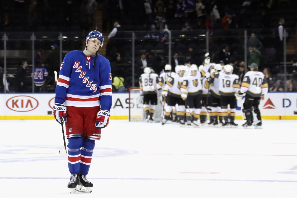 New York Rangers Vs Vegas Golden Knights