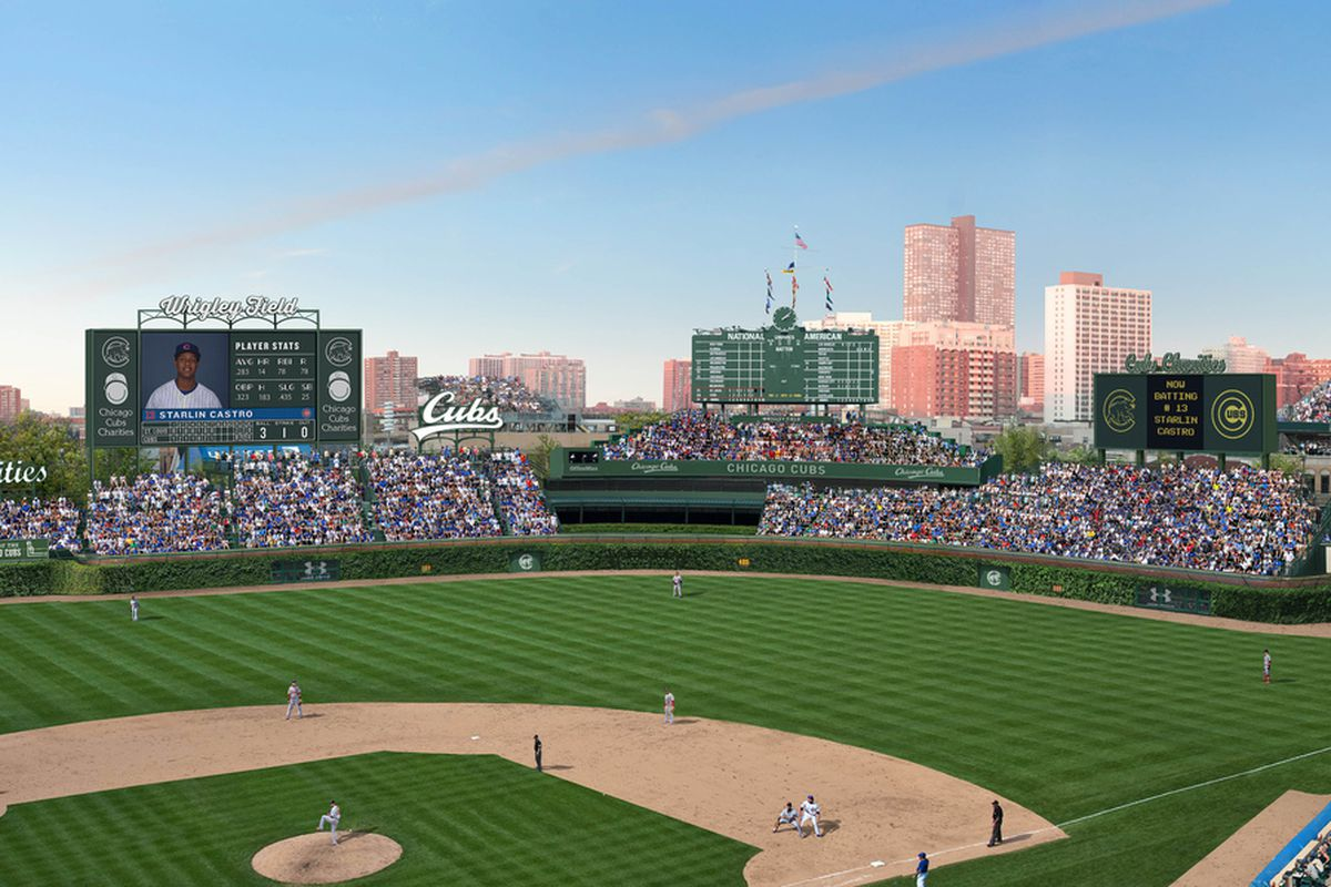 New Wrigley Field Renovation Plan Unanimously Approved By Landmarks