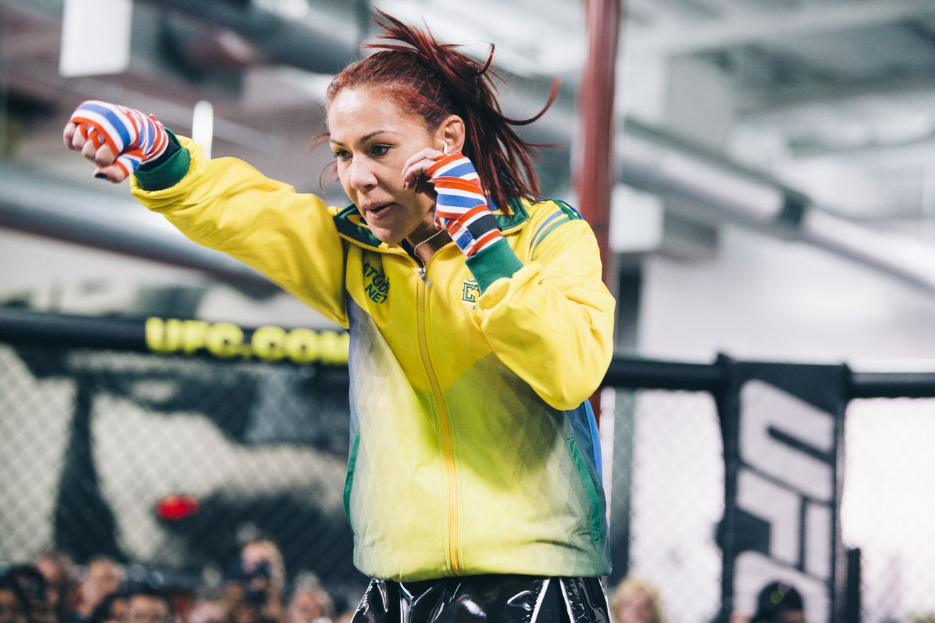 community news, Cris Cyborg responds to scared Germaine de Randamie: She's running