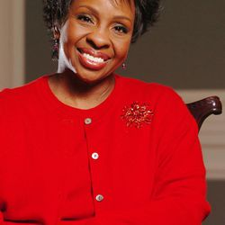 Singer Gladys Knight poses for a photo while at the Joseph Smith Memorial Building in Salt lake City in 2005.